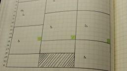 Calendex Recurring tasks colour coding
