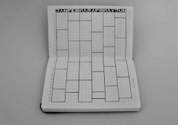 Pocket Notebook Setup - 6 month Calendex
